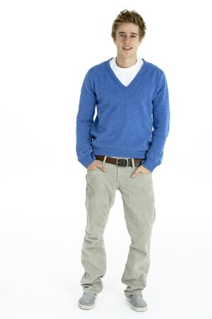 Full Length Portrait Of Young Man Stock Photo - 6456626