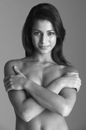 Portrait of Attractive Naked Woman Stock Photo - 6453312