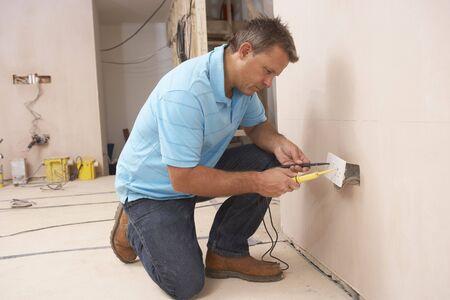 empleadas domesticas: Electricista instalaci�n Wall Socket