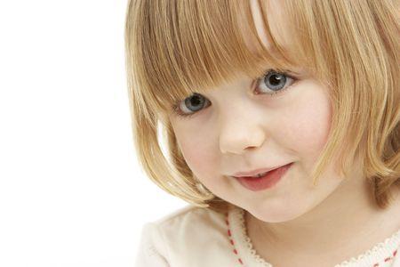 Studio Portrait Of Young Girl photo