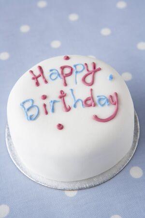fondant: Una torta di compleanno