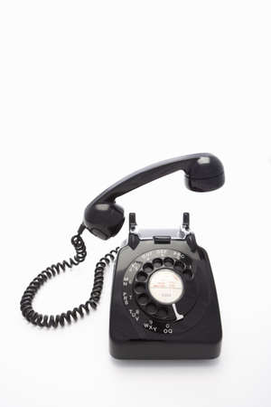 rotary dial telephone: