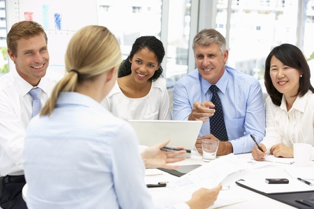 Recruitment office meeting Stock Photo - 11183273