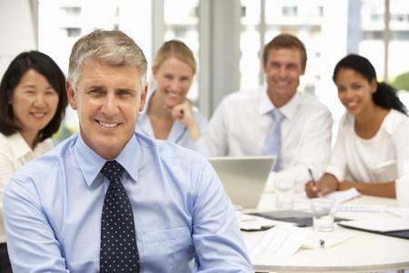 recruitment: Recruitment office meeting