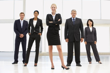 Confident business people photo