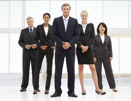 Confident business people Stock Photo - 11182864