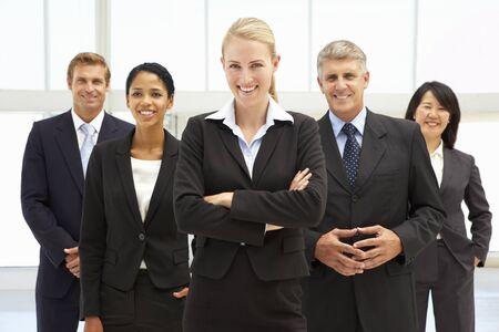 自信を持ってビジネス人々