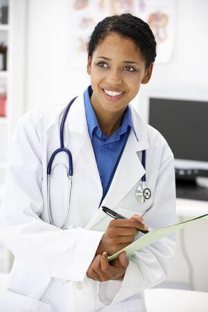Portrait of doctor photo