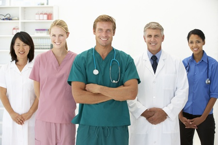 Portrait of medical professionals Stock Photo - 11183287