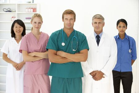 health professionals: Portrait of medical professionals