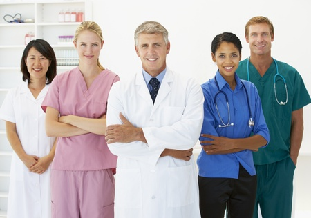 Portrait of medical professionals Stock Photo - 11182923