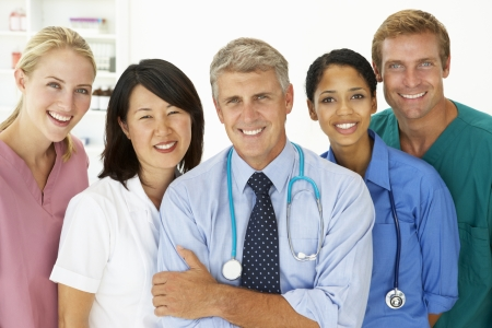 Portrait of medical professionals Stock Photo - 11183910