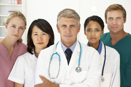Portrait of medical professionals photo