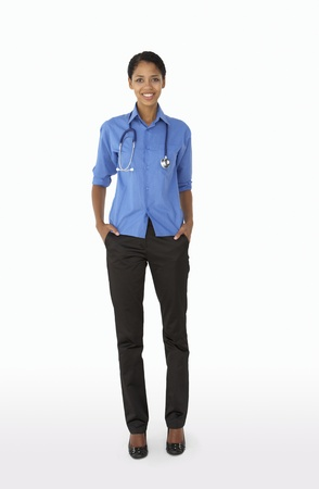 Portrait of medical professional photo