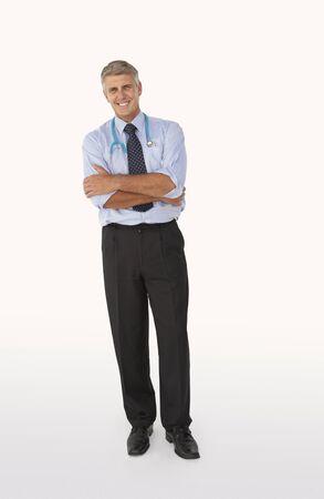 male nurse: Portrait of medical professional