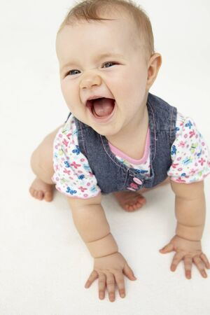 Portrait of happy baby Stock Photo - 11183509