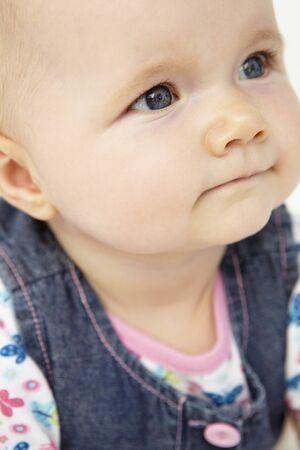 Portrait of happy baby Stock Photo - 11185279