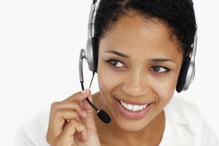 Call center operator Stock Photo - 11185099