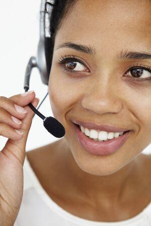 Call center operator Stock Photo - 11185328