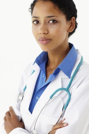 nurse uniform: Retrato de profesional de la medicina