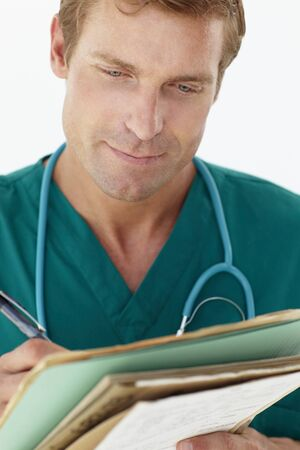 Portrait of medical professional photo