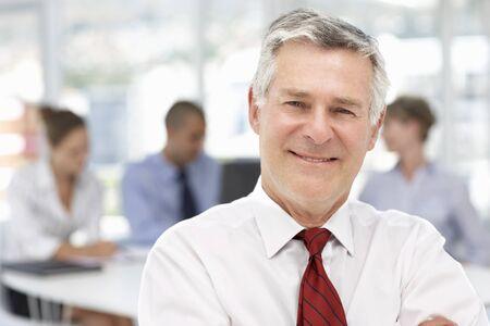 m�s viejo: Hombre de negocios mayor