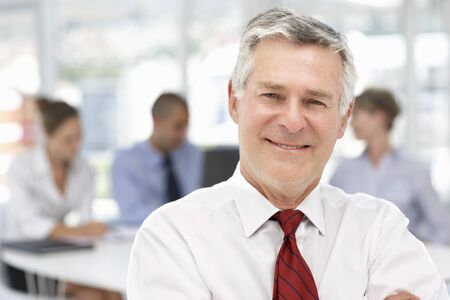 iş adamı: Senior businessman