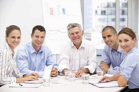 informal: Colleagues in business meeting