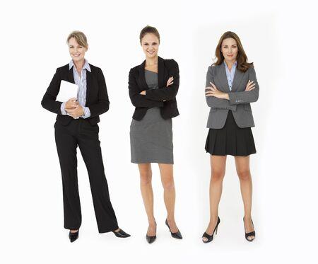 Group Of Businesswomen In Studio photo
