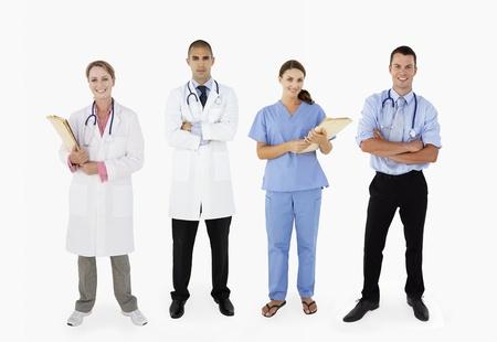 Portrait Of Medical Staff In Studio photo