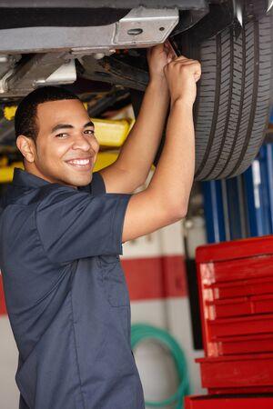 Mechanic at work photo