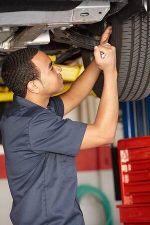 Mechanic at work Stock Photo - 11217917