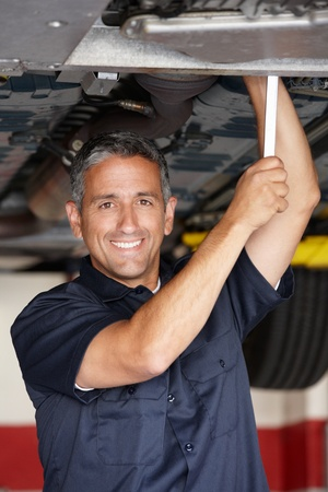 Mechanic at work photo