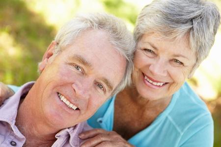 Portrait of senior couple Stock Photo - 11239008