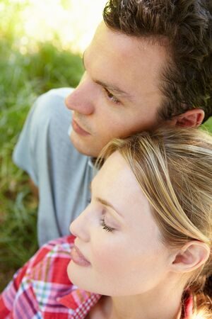 Portrait of young couple Stock Photo - 11239106