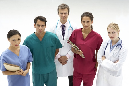 Group of medical professionals photo