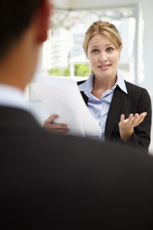 Job interview Stock Photo - 11238309