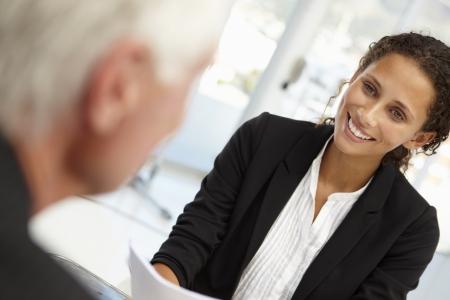 Entretien d'embauche Banque d'images - 11238252