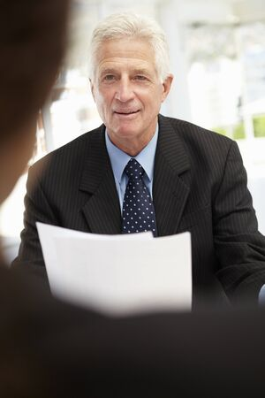 Job interview photo