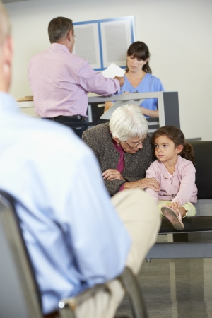 grandkids: Patients In Doctors Waiting Room