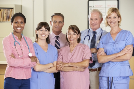 Portrait Of Medical team Stock Photo - 18735789
