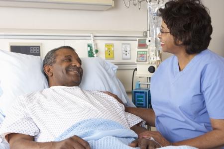 환자: 간호사 병동 수석 남성 환자 이야기