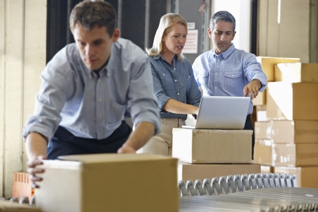 owners: Workers In Distribution Warehouse