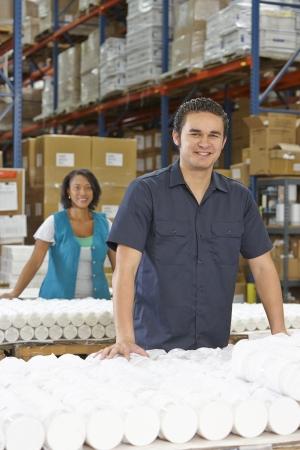 linea de produccion: Obrero Comprobaci?e Productos en L?a de Producci?