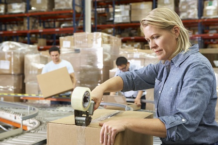 dispatch: Workers In Distribution Warehouse