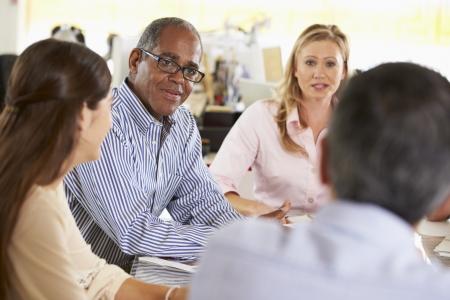 Team Meeting In Kreative Office