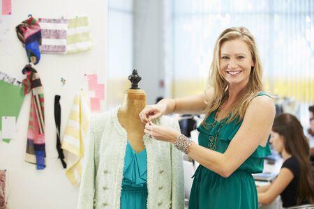 Fashion Designer In Studio photo