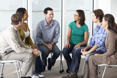 spirituality therapy: Meeting Of Support Group