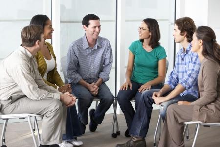 terapia grupal: Reunión del Grupo de Apoyo
