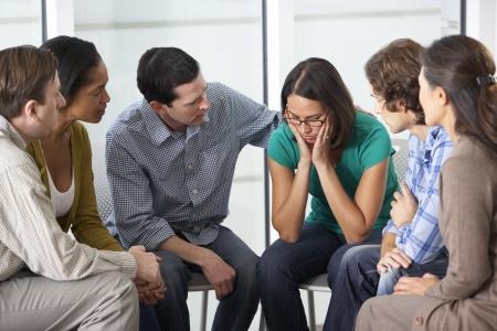 terapia de grupo: Reuni�n del Grupo de Apoyo